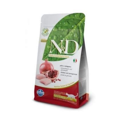 Сухой корм для кошек Farmina N&D Neutered, для стерилизованных, курица, 0,3кг