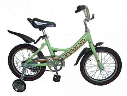 Детский двухколесный велосипед Jaguar MS-A162 салатовый