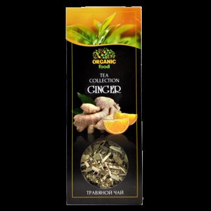 Чай имбирный Organic Food согревающий 40 г