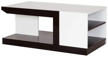 Журнальный столик Hoff Ронда 80291239 100,2х65х42 см, белый/венге