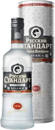 Водка Русский Стандарт Оригинал в подарочной тубе 0.5 л
