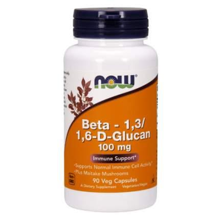 NOW Beta Glucan (90 капсул) - бета глюкан для поддержки иммунитета