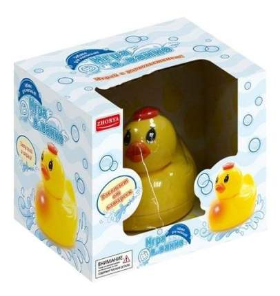 Игрушка для ванной Zhorya Электронная утка Х76169