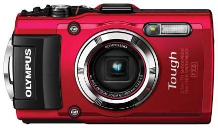 Фотоаппарат цифровой компактный Olympus TG-3 Red