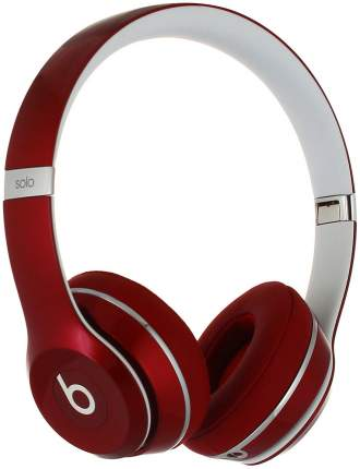Наушники Beats Solo 2 Red Luxe Edition