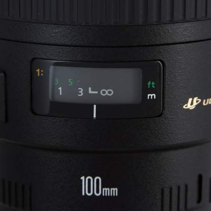 Объектив Canon EF 100 f/2.8 USM Macro