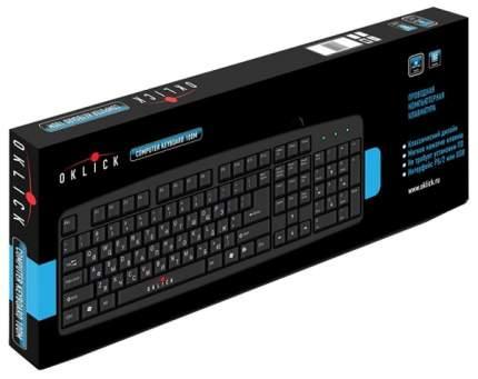 Клавиатура Oklick 100M черный PS/2
