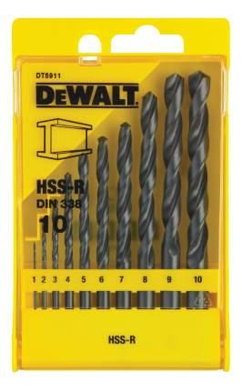 Набор сверл по металлу для дрелей, шуруповертов DeWALT DT5911-QZ