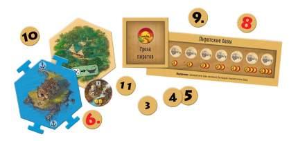 Настольная игра Hobby World Колонизаторы Первопроходцы и Пираты