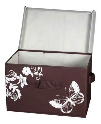 Ящик для хранения Hausmann 4F-101B 43x27x27см коричневый