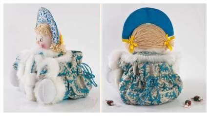 Кукла новогодняя Новогодняя сказка Снегурочка 32 см, 971979
