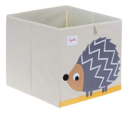 Ящик для игрушек Серый ежик