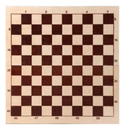 Шахматы настольная игра шашки Шахматы Шашки деревянные со 100-клеточной доской D-4