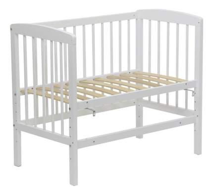 Кровать классическая Simple 100 белый Polini