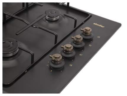 Встраиваемая варочная панель газовая Simfer H60Q40L417 Black