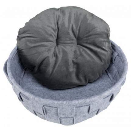 Лежанка для кошек и собак TRIXIE 40x40x серый