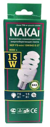 Лампочка NAKAI NEP FS-mini 15Вт 842 E27