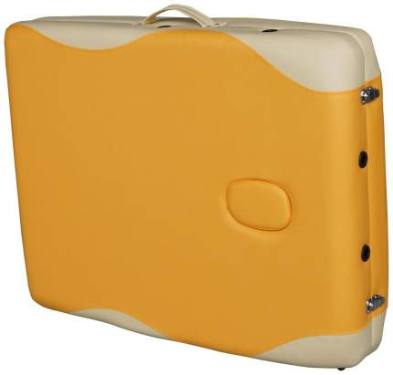 Массажный стол стационарный DFC Nirvana Superior beige/orange