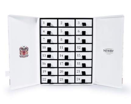 Подарочный набор чая Newby адвент-календарь белый