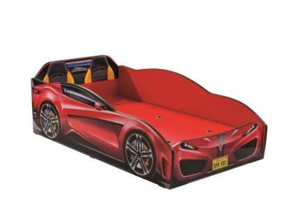 Кровать-машина Cilek Carbed Spyder красная 70х130
