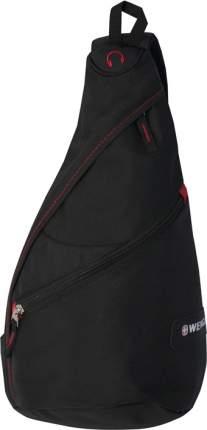 Рюкзак Wenger черный/красный 7 л