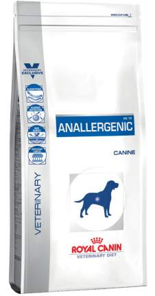 Сухой корм для собак ROYAL CANIN Vet Diet Anallergenic AN 18, злаки, рыба, 8кг