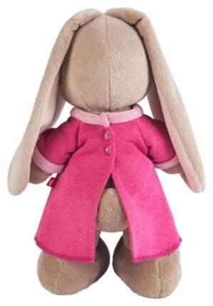 """Мягкая игрушка """"Зайка"""" в розовом платье с вишенкой"""", 25 см Зайка Ми"""