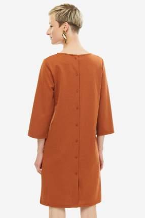 Платье женское ICHI 110686 12214 коричневое XS
