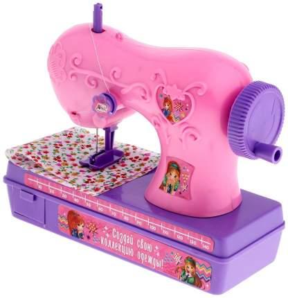 """Игрушечная швейная машинка """"Винкс"""", розовая Забияка"""
