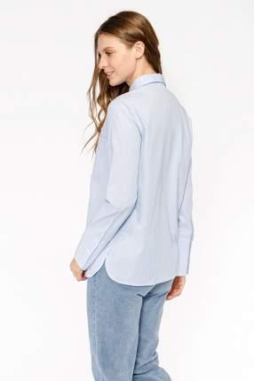 Рубашка женская Modis M192W00177 голубая XS