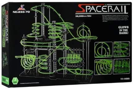 Динамический конструктор Космические горки, светящиеся рельсы, уровень 7 SpaceRail 233-7G