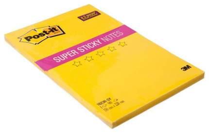 Блок самоклеящийся Post-it Мегастикеры 150х228 мм, Желтый