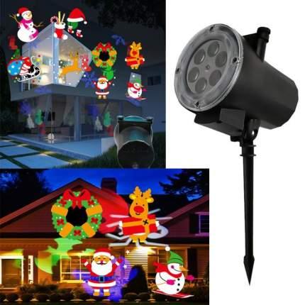 """Уличный лазерный проектор Festival Projection Lamp """"Новогодние Фигуры"""""""