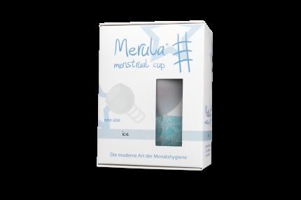 """Менструальная чаша """"Merula"""" прозрачная One Size"""