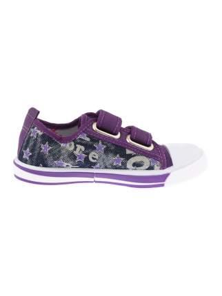 Кеды М.МИЧИ Star, цвет: фиолетовый, размер: 30