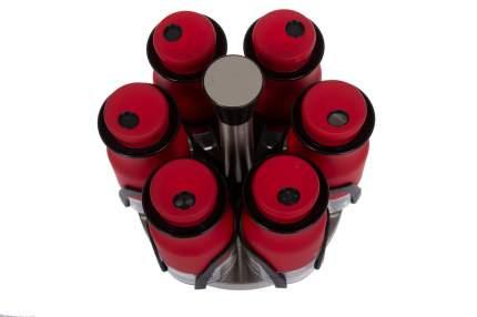 Набор баночек для специй TAC, 7 предметов, красный