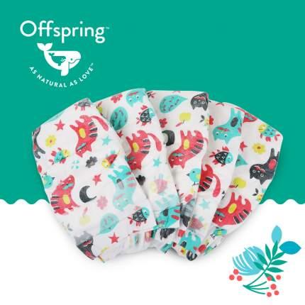 Подгузники Offspring L 9-13 кг. 36 шт. Котики