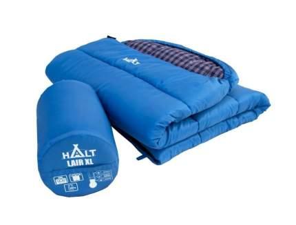 Спальный мешок Prival Halt Lair XL синий, левый