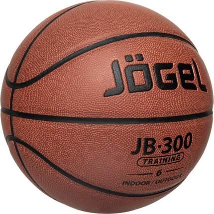 Баскетбольный мяч Jogel JB-300 №6 brown