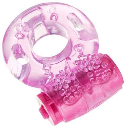 Эрекционное кольцо ToyFa из эластичного геля розовый