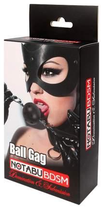 Красно-черный кляп-шарик Ball Gag