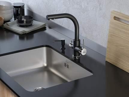 Смеситель для кухонной мойки Paulmark Essen Es213011-401 Антрацит