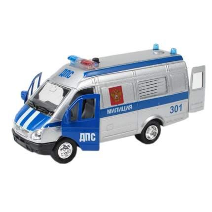 Полицейская Машинка Технопарк Газель 1:43 Полиция