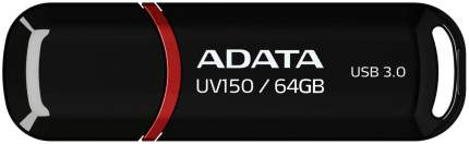 USB-флешка ADATA UV150 Black 64GB Черный AUV150-64G-RBK