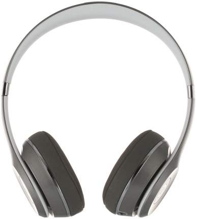 Наушники Beats Solo2 Silver Luxe Edition (MLA42ZE/A)