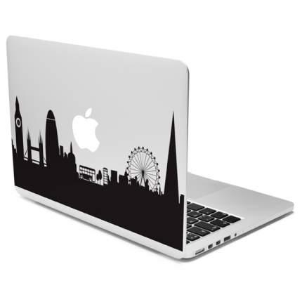 """Чехол для ноутбука 13"""" Case It London Skyline прозрачный/черный"""