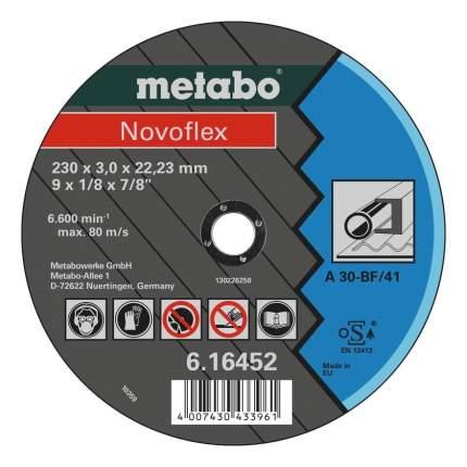 Диск отрезной абразивный по металлу для УШМ metabo 616452000