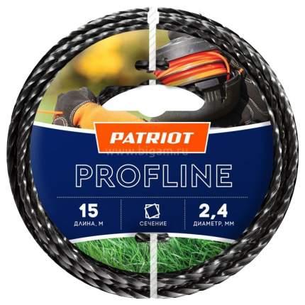 Леска для триммера PATRIOT Profline D 2,4 мм L 15 м 805402205
