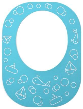 Защитный козырек для купания ребенка, голубой