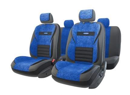 Комплект чехлов на сиденья Autoprofi Multi Comfort MLT-1105GV BK/BL (M)
